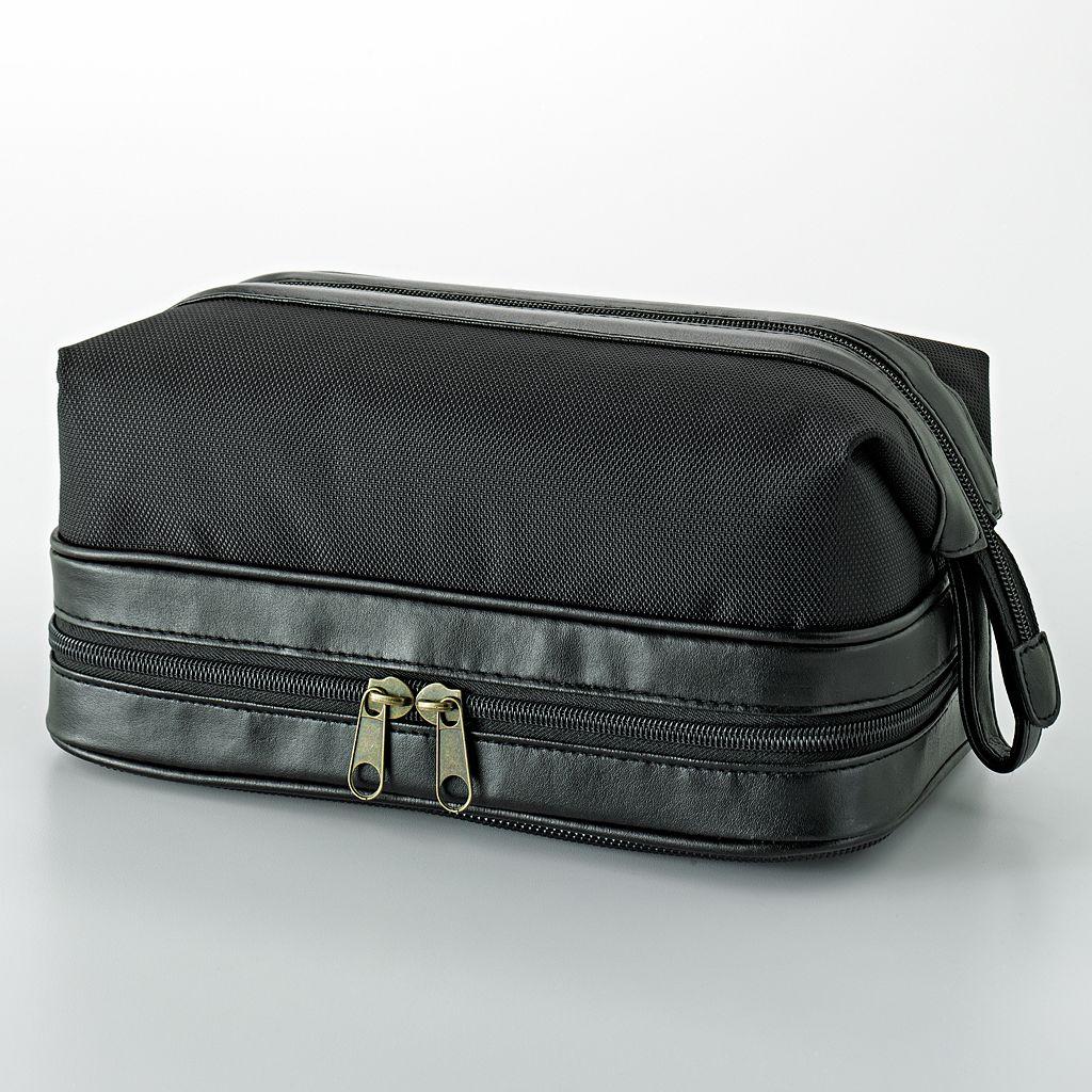 Dopp Super Zip-Bottom Travel Kit with Manicure Set