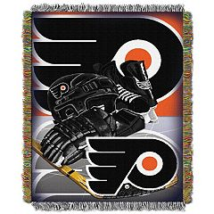 Philadelphia Flyers Home Ice Advantage Throw Blanket