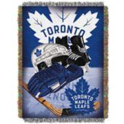 Toronto Maple Leafs Home Ice Advantage Throw Blanket