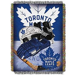Toronto Maple Leafs Home Ice Advantage Throw Blanket