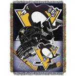 Pittsburgh Penguins Home Ice Advantage Throw Blanket