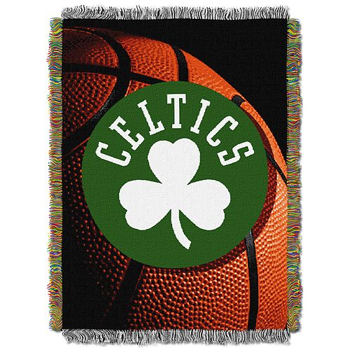 Boston Celtics Logo Throw Blanket