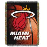 Miami Heat Logo Throw Blanket