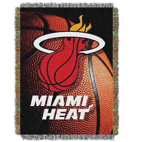 Miami Heat Logo Throw Blanket