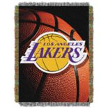 Los Angeles Lakers Logo Throw Blanket
