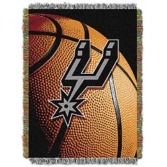 San Antonio Spurs Logo Throw Blanket