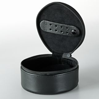 Dopp Leather Zipper Jewel Case