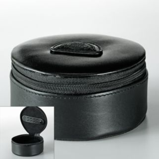 Dopp Leather Zipper Jewel Case