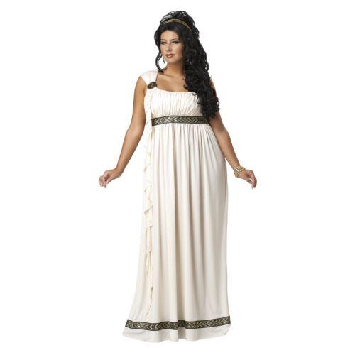 Olympic Goddess Costume - Adult Plus