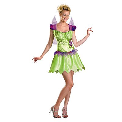 Disney Fairies Tinker Bell Rainbow Classic Costume - Adult