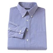 Croft and Barrow Fitted Patterned Easy-Care Button-Down Collar Dress Shirt