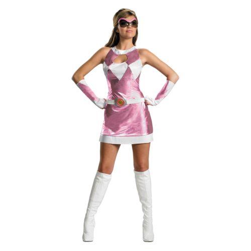 Mighty Morphin Power Rangers Pink Ranger Deluxe Costume - Adult