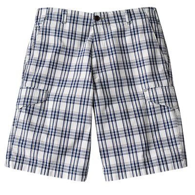 Dockers Plaid Cargo Shorts