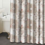 Famous Home Fashions Nadine Floral Fabric Shower Curtain