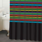 Mette Ditmer Striped Fabric Shower Curtain