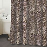 Waverly Paddock Shawl Paisley Fabric Shower Curtain