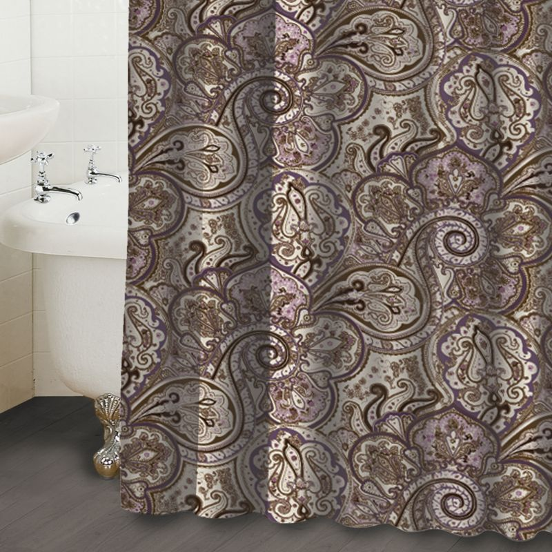 Kohls.com Waverly Waverly Paddock Shawl Paisley Fabric Shower Curtain ...