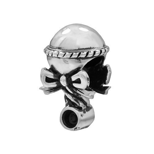 Individuality Beads Sterling Silver Baby Rattle Bead