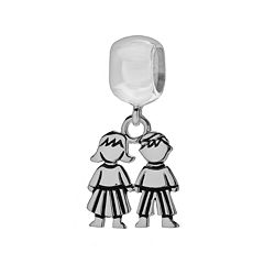 Individuality Beads Sterling Silver Kids Charm