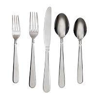 Cambridge Rosalind Mirror 42-pc. Flatware Set