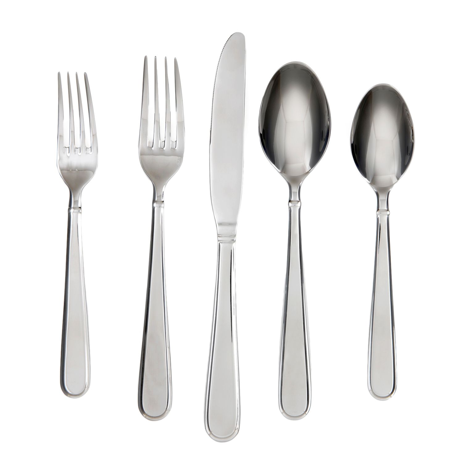 flatware sets for 6 24piece modern gold plated brushed stainless