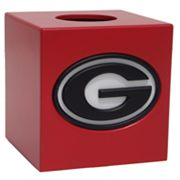 Georgia Bulldogs Tissue Box Cover