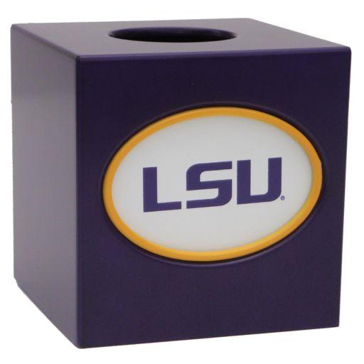LSU Tigers Tissue Box Cover