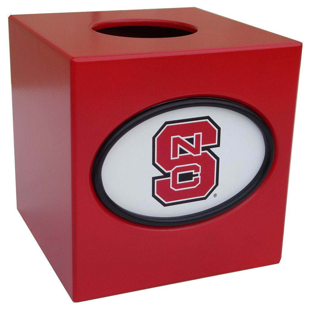 North Carolina State Wolfpack Tissue Box Cover