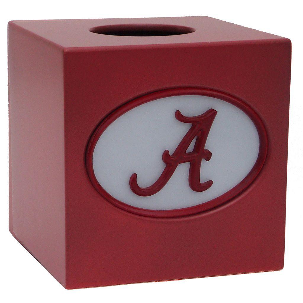Alabama Crimson Tide Tissue Box Cover