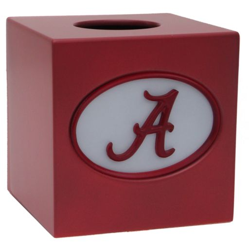 Alabama Crimson Tide Tissue Box Cover
