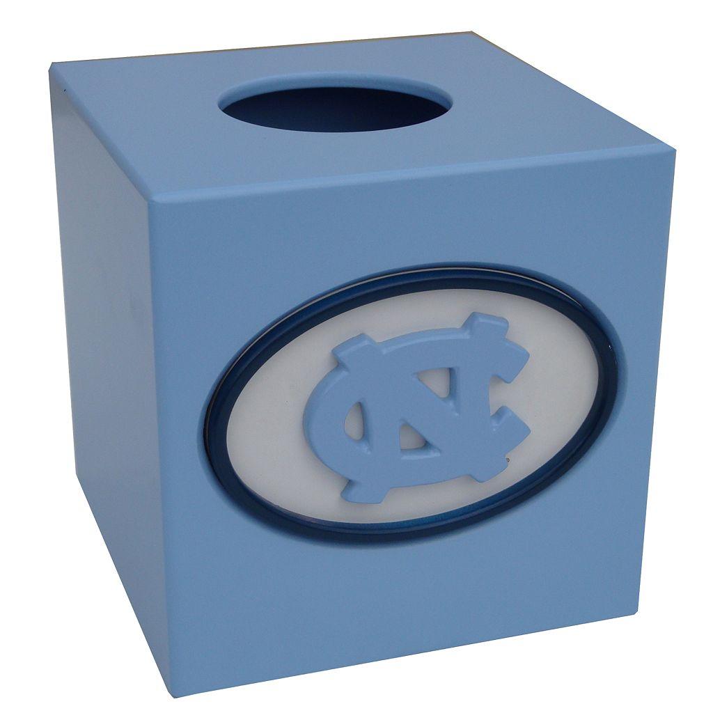 North Carolina Tar Heels Tissue Box Cover