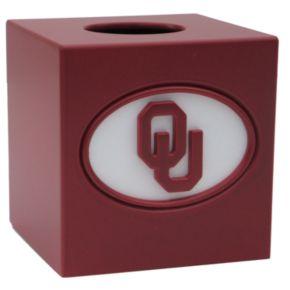 Oklahoma Sooners Tissue Box Cover