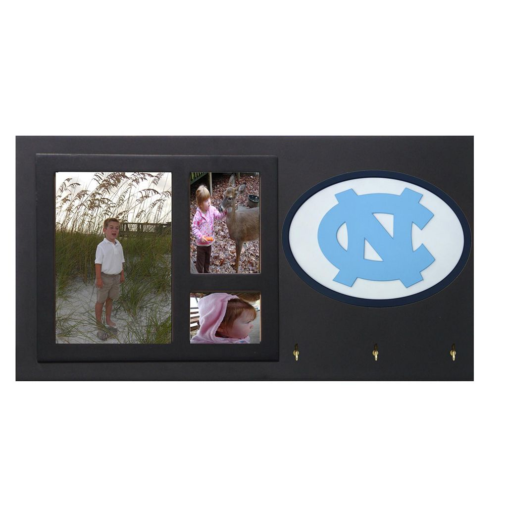 North Carolina Tar Heels Key Hook Collage Frame