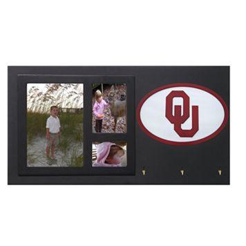 Oklahoma Sooners Key Hook Collage Frame