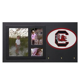 South Carolina Gamecocks Key Hook Collage Frame