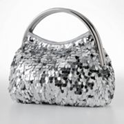 Gunne Sax by Jessica McClintock Sequin Handle Clutch