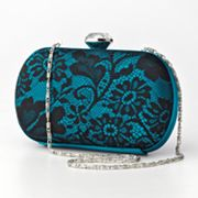 Gunne Sax by Jessica McClintock Lace Hard-Case Clutch