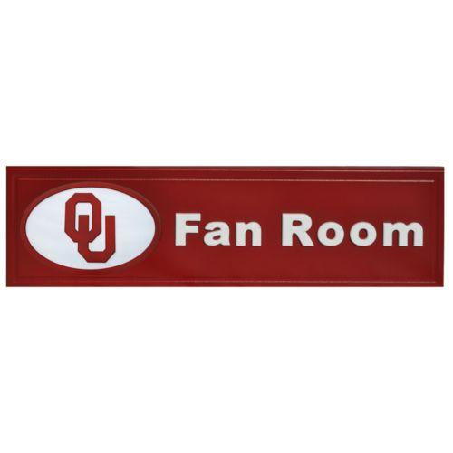 Oklahoma Sooners Fan Room Sign