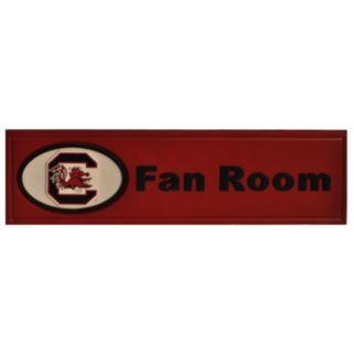 South Carolina Gamecocks Fan Room Sign