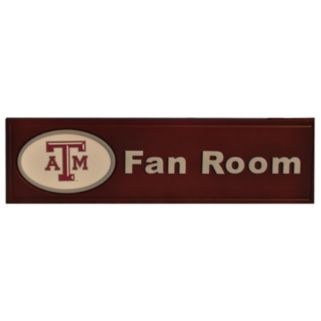 Texas A and M Aggies Fan Room Sign