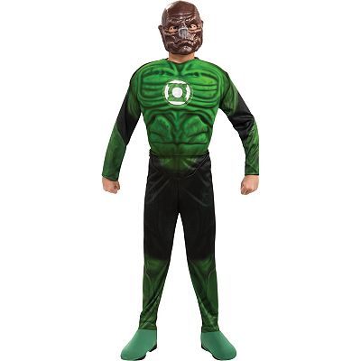 Green Lantern Kilowog Muscle Costume - Kids