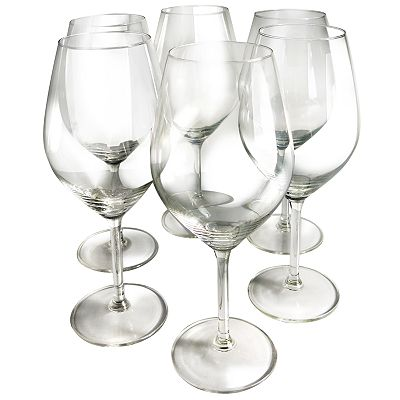 Epicureanist 6-pc. White Wine Glass Set