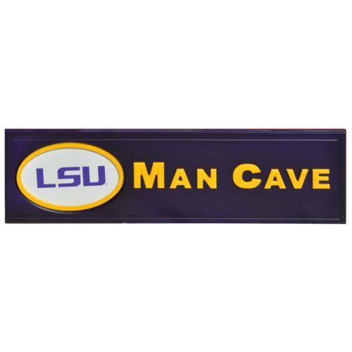 LSU Tigers Man Cave Sign