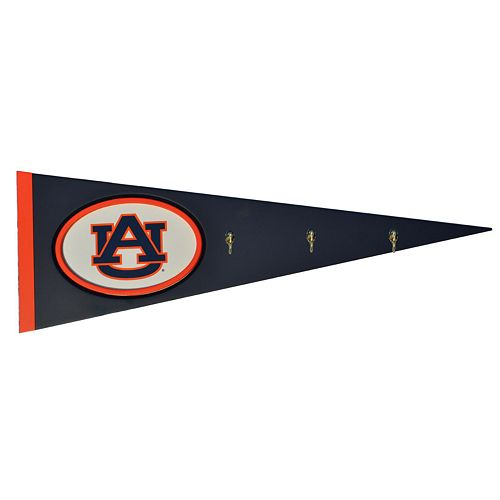 Auburn Tigers Pennant Coat Rack