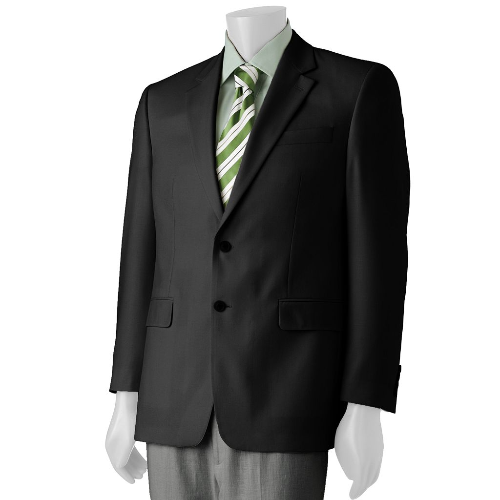 Big & Tall Croft & Barrow® Hopsack Sport Coat