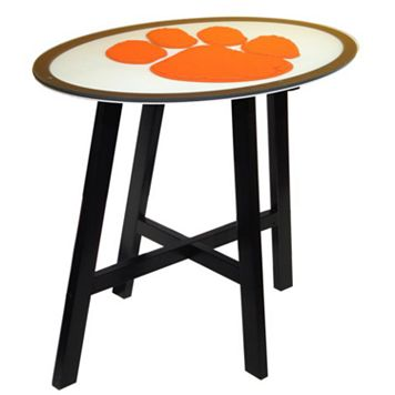 Clemson Tigers Wooden Pub Table