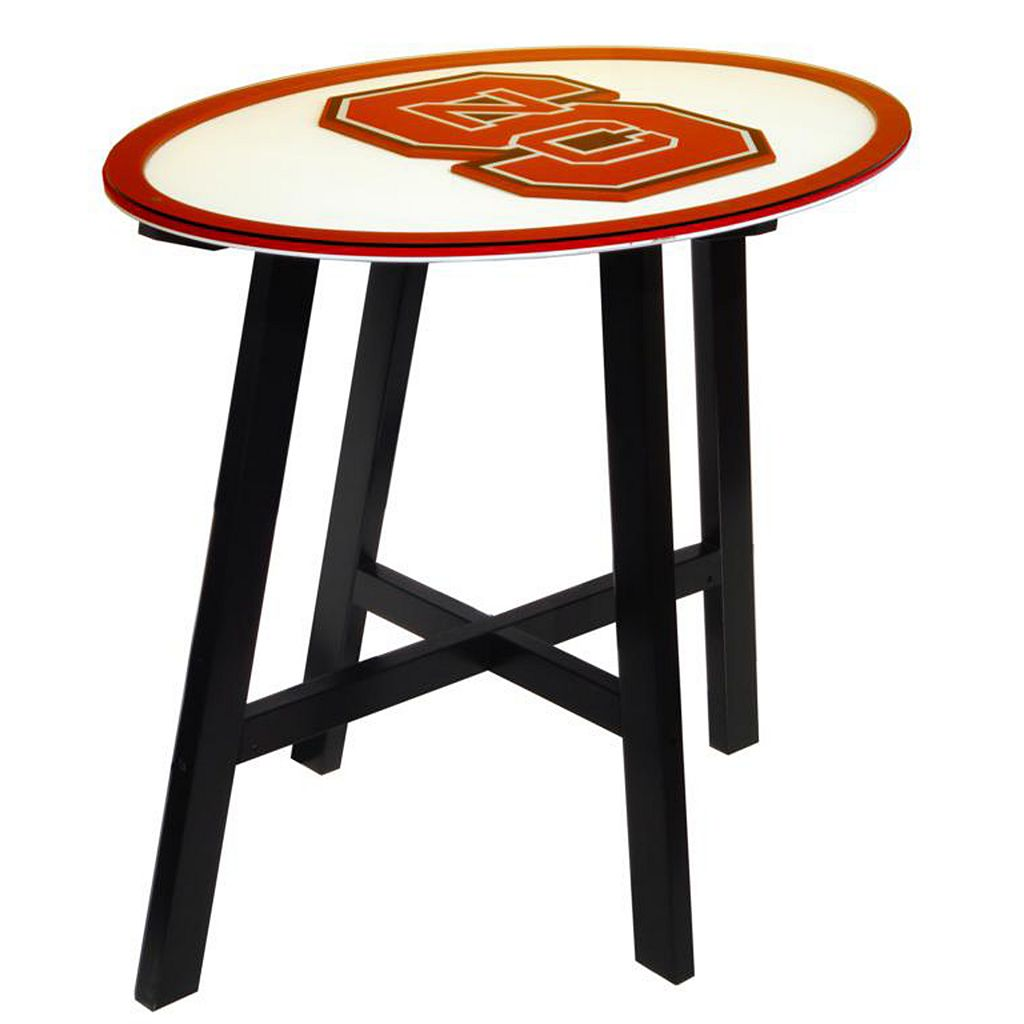 North Carolina State Wolfpack Wooden Pub Table