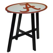 Alabama Crimson Tide Wooden Pub Table