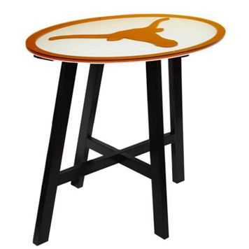 Texas Longhorns Wooden Pub Table
