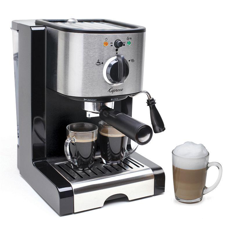 Capresso EC100 Espresso & Cappuccino Machine (Black)